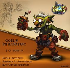 Goblins Vs Gnomes: Goblin Infiltrator, Mohammed Z. Mukhtar on ArtStation at https://www.artstation.com/artwork/goblins-vs-gnomes-goblin-infiltrator