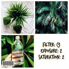 C3 Exposure +2 Saturation +2  Alternative if you don't have C3 : C1 Temperature +2 Exposure +2 Saturation +2