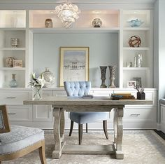 Office With Great Cabinetry