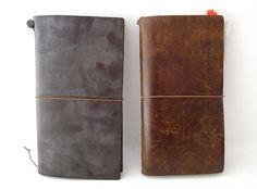 Midori Traveler's Notebook - Brown