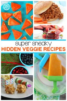 Recipes That Sneak In Veggies! If you're kids hate veggies, try one of these sneaky recipes that sneak them in!If you're kids hate veggies, try one of these sneaky recipes that sneak them in! Healthy Kids, Healthy Snacks, Healthy Recipes, Detox Recipes, Healthy Food Picky Eaters, Picky Eater Meals, Picky Eaters Kids, Eat Healthy, Toddler Meals