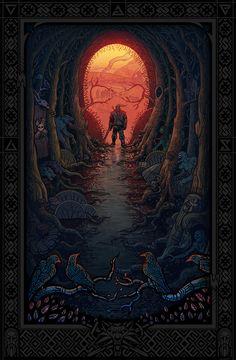 красивые картинки,арт,ведьмак 3,The Witcher,Ведьмак, Witcher, ,фэндомы,Геральт,Witcher Персонажи,постер