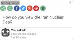 An Anonymous user posted this question on VotR, need some votes!