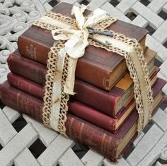 Just love vintage book bundles for adding charm to any room! I've got many new ones ready to list, so stay tuned!