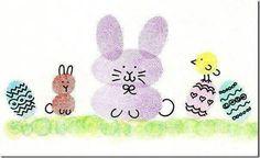 10 Easy Finger Painting For Kids Art For Kids, Crafts For Kids, Arts And Crafts, Finger Painting For Kids, Rolled Paper Art, Fingerprint Art, Thumb Prints, Hand Prints, Craft Items