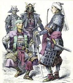 Group of 4 samurai - 武士 (日本) - 維基百科,自由的百科全書