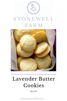 Stonewell Farm Here is a Lavender Cookie recipe I think you will LOVE! Other Recipes, My Recipes, Baking Recipes, Baking Ideas, Recipies, Lavender Cookie Recipe, Lavender Recipes, Easy Cookie Recipes, Homemade Desserts