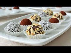 Reteta trufe de ciocolata Make the best chocolate truffles Best Chocolate, Chocolate Truffles, Romanian Food, Romanian Recipes, Desert Recipes, Bakery, Fondant, Good Food, Food And Drink