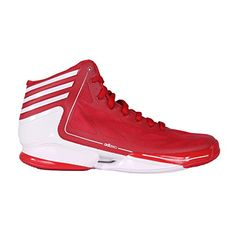 the latest 780b0 33202 Scarpe da Basket - Adidas ADIZERO CRAZY LIGHT - Uomo - rosso