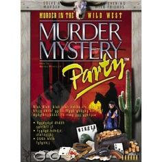 Murder Mystery Dinner Parties are so much fun!