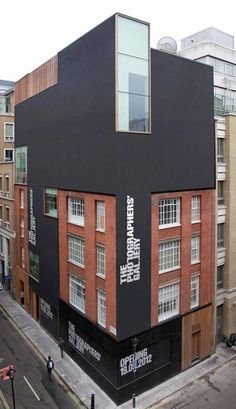 Photographer's Gallery in London, by O'Donnell +Tuomey -love this place