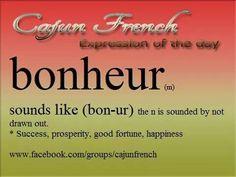 Cajun French