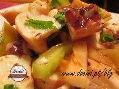 Salada de Pota com Tomate