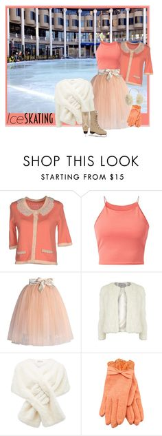 """""""The One to Watch"""" by shoppe23online on Polyvore featuring Darling, Parisian, Chicwish, Dorothy Perkins, Forever New, House of Lafayette, Reebok and iceskatingstyle"""