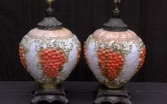 Vintage Grape Cluster Lamps