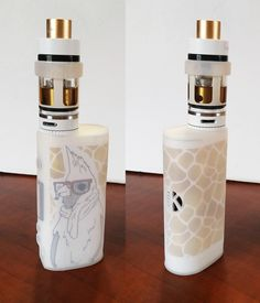 In love with my #KangerTech #Subox Mini in white. Spruced it up and made it mine…