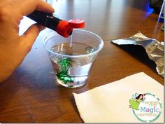Earth Day water pollution experiment following the scientific method