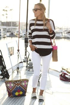 High/low fashion - Old navy jeans, Zara sweater and Chanel espadrilles