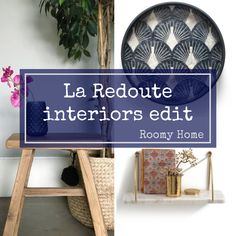 Discover our curated interiors edit at La Redoute, the French lifestyle brand. Post contains affiliate links. French Lifestyle, Home Goods, Interiors, Storage, Furniture, Design, Home Decor, Purse Storage, Store