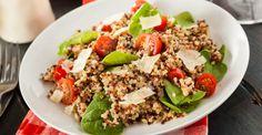 Quinoa, Tomato and Spinach Salad Recipe