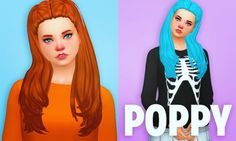 Clayified: Poppy at Holosprite via Sims 4 Updates Check more at http://sims4updates.net/hairstyles/clayified-poppy-at-holosprite/