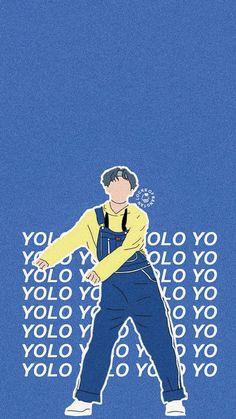 WALLPAPER BTS- GO GO V