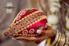 Decorated-Coconut-Indian-Wedding