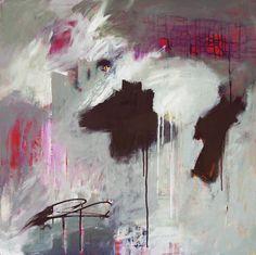 """""""A Love so Deep and Sweet"""" 30"""" x 30"""" acrylic on canvas... Linda O'Neill ~ abby creek studios"""