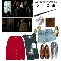 24/70 Professor Lupin, created by girloverboard on Polyvore