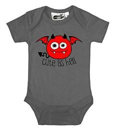 3 Skull One Piece Sleeper Black Pink Pirate Goth Punk Metal Three Baby Clothes