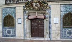Doors to St James Church in Jerusalem Armenian Quarter