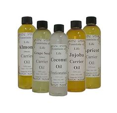 CARRIER OILS :: All about carrier oils (for diluting essential oils). (NOTE: Shop for cold pressed. Cold expeller pressed is better.) These oils include: Sweet Almond, Apricot Kernel, Avocado, Borage Seed, Camellia Seed (Tea Oil), Cranberry Seed, Evening Primrose, Fractionated Coconut, Grapeseed, Hazelnut, Hemp Seed, Jojoba, Kukui Nut, Macadamia Nut, Meadowfoam, Olive, Peanut, Pecan, pmegranate Seed, Rose Hip, Seabuckthron Berry, Sesame, Sunflower & Watermelon Seed. | #aromaweb #carrieroils