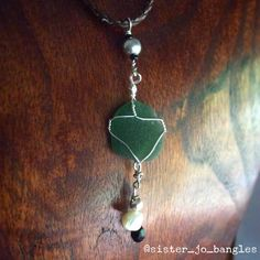 A personal favourite from my Etsy shop https://www.etsy.com/au/listing/494770243/seaglass-necklet-juniper