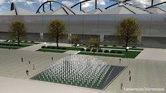 AECCafe.com - ArchShowcase - 3D Fountain in Zaragoza, Spain by ...