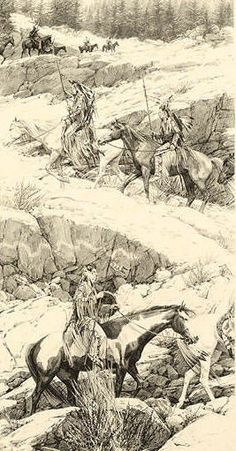 Artifacts Gallery - Shoshone Switchback : Signed Limited Edition Stone Lithograph by Bev Doolittle Native American Print, Native American Wisdom, Native American Pictures, Native American Artists, American Indian Art, Native American History, American Indians, Bev Doolittle Prints, Native Art