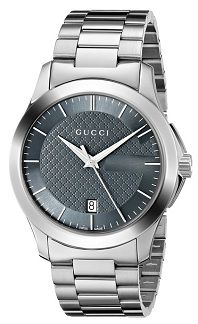 #MensStyle #Watches Gucci Men's YA126441 G-Timeless Stainless Steel Watch