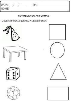 Geometrica Con Imagenes Figuras Geometricas Para Preescolar
