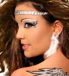 Xotic Eyes - Angelic Eye Applique | Costume Makeup Kits| HalloweenMart