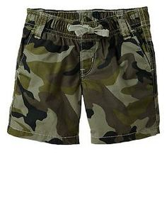 Camo pull-on shorts - My husband and son will match! ARMY STRONG!