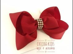 HOW TO: Make a Six Loop Boutique Hair Bow Tutorial by Just Add A Bow - YouTube