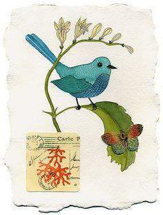 Bird by Geninne D Zlatkis