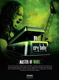 Kirk Hammett WAH by Jim Dunlop