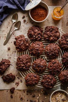 Galletas de muesli y chocolate