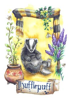 It's a well known fact, that I'm a passionated Hufflepuff. But this one is definitel. The glorious Hufflepuff Badger Harry Potter Drawings, Harry Potter Houses, Harry Potter Art, Harry Potter Universal, Hogwarts Houses, Harry Potter Hogwarts, Hufflepuff Wallpaper, Avengers, Harry Potter Wallpaper