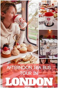 Want to experience a typical English afternoon tea with a special twist? Go on a B Bakery afternoon tea bus tour in London! That way you will be able to sip your tea and eat delicious sandwiches and cakes while driving around the main landmarks in London. Check out this post to find out everything about the B Bakery afternoon tea bus tour in London. #london #afternoontea #afternoonteainlondon #afternoonteabustour