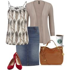 Starbucks Date by hannahtay96 on Polyvore featuring Warehouse, Dorothy Perkins and Michael Kors.