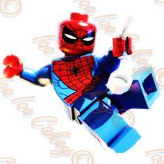 Lego Spiderman Round