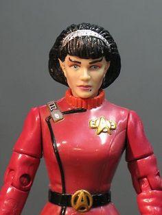 STAR TREK VI Custom Lt. Valeris figure Playmates | #469990636