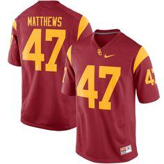Clay Matthews USC Trojans Nike Alumni Football Game Jersey - Cardinal - $99.99