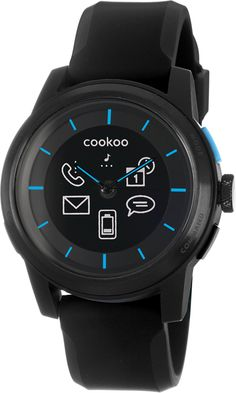 27d051c744a Cookoo KK-01 watch - Black On Black